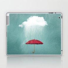 WHITE RAIN Laptop & iPad Skin