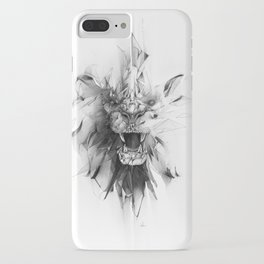 STONE LION iPhone Case