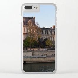 senna parigi Clear iPhone Case
