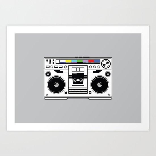 1 kHz #1 Art Print