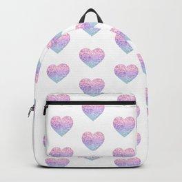 Unicorn Girls Glitter Heart #1 #shiny #pastel #decor #art #society6 Backpack