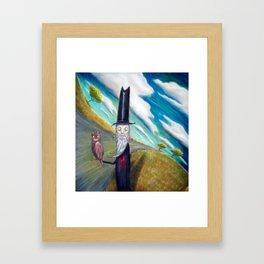 Meowhoo Framed Art Print