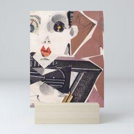 Klaus Nomi #PrideMonth Collage Portrait Mini Art Print