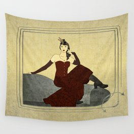 Steampunk Chic Wall Tapestry