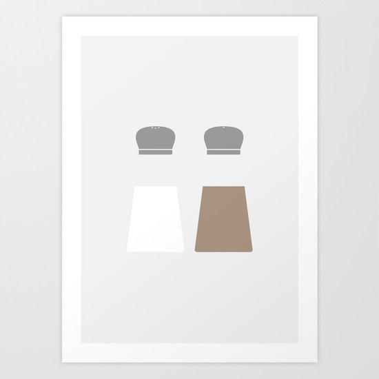 #36 Salt and Pepper Art Print