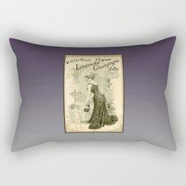 Kitty Pearl's Elegant Lavender Champagne Jelly Rectangular Pillow