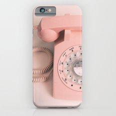 vintage PHONE pink iPhone 6s Slim Case