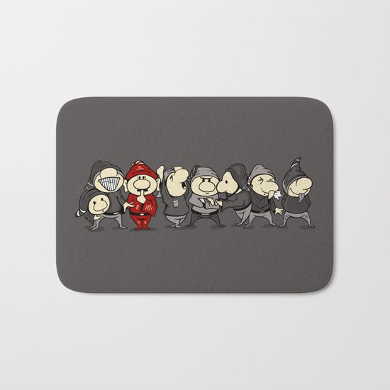 Red Dwarf Bath Mat