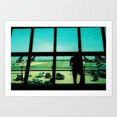 Koh Samui Airport Art Print