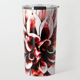 Strawberry Coated Flower Travel Mug