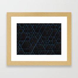 Geometric pattern 022 Framed Art Print