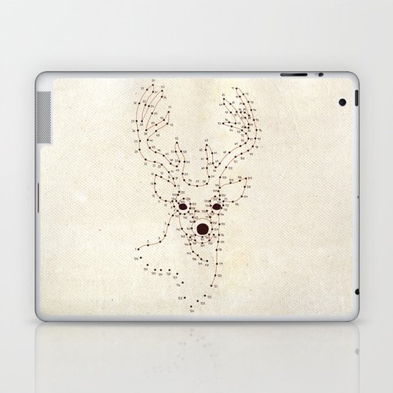 Connect the Dots Laptop & iPad Skin