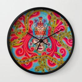 MonkeySnake Wall Clock