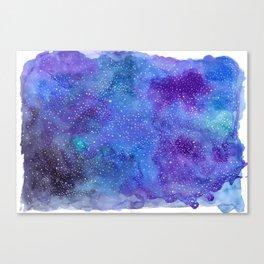 Galaxy Love:. Canvas Print