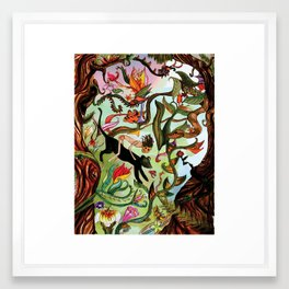 Mowgli Framed Art Print