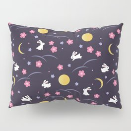 Moon Rabbits V2 Pillow Sham