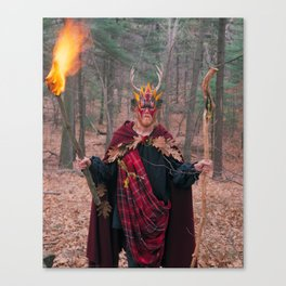 The Man of Wands Canvas Print