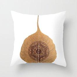 Bo Leaf Throw Pillow