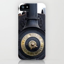 Steam Power 1 - Tractor iPhone Case
