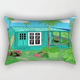 BeachHut Rectangular Pillow