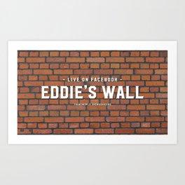 Eddie's Wall Art Print
