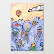 Wibble Wobble Canvas Print