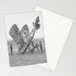 Plane crash. Stationery Cards