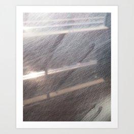 train window Art Print