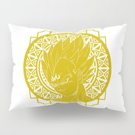 Stained Glass - Dragonball - Majin Vegeta Pillow Sham
