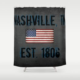Music City Shower Curtain