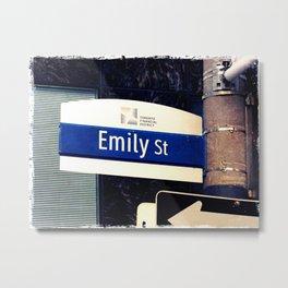 Emily Metal Print