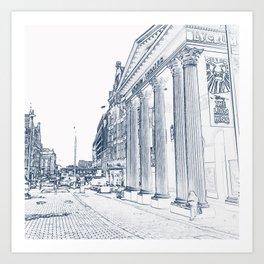 The Lyceum Theatre, London Art Print