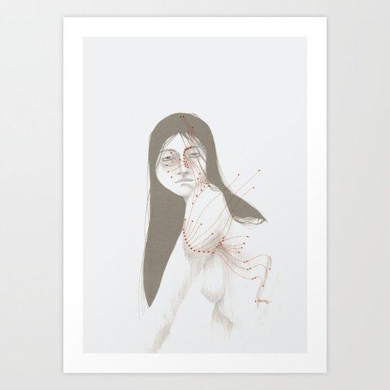 CIRCUITRY SURGERY 5 Art Print