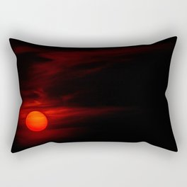 Concept sunset : Rebrum solem Rectangular Pillow
