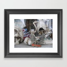 Skeleton Wares Framed Art Print