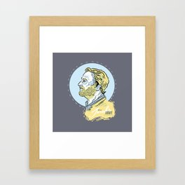 Ser Jorah's Army Framed Art Print