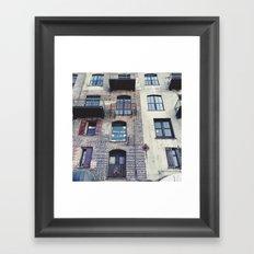 Just Look Up Framed Art Print