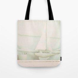 Beach Hut boat ♥ Tote Bag