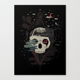 Happy Riddle Canvas Print
