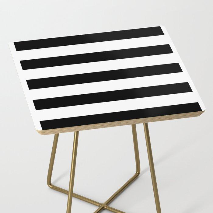 black stripes Side Table