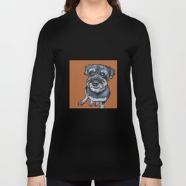 Frankie the Schnoodle Long Sleeve T-shirt