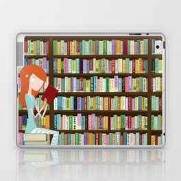 When in doubt, go to the library Laptop & iPad Skin
