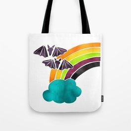 Halloween Rainbow Tote Bag