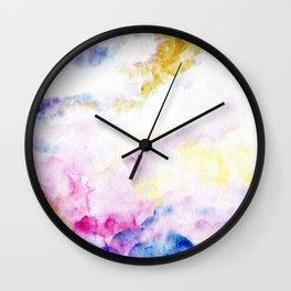 fantasy watercolor Wall Clock