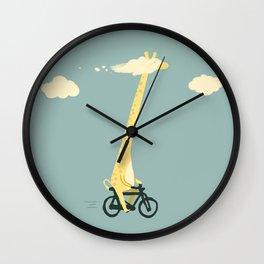 Head in the cloud Wall Clock