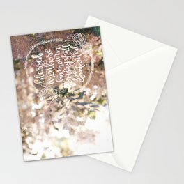 They Shall Be Comforted  |  Matthew 5:4 Stationery Cards