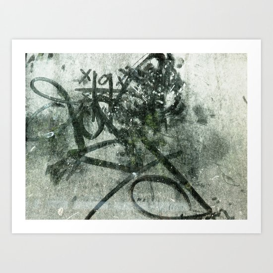 Urban Abstract 73 Art Print
