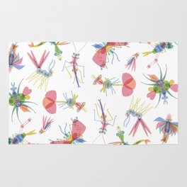 Colorful Insects Rug