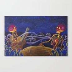 Compañeros Canvas Print
