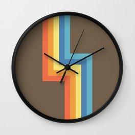 Ahoacati Wall Clock